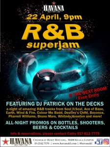 R&B Night A3 Poster JPG Format 3Apr17