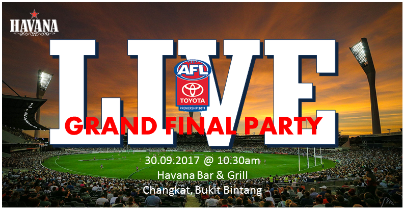 AFL Grand Finals FB Events 30Sept17